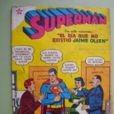Tebeos: SUPERMAN. Nº166. DICIEMBRE 1958. EDICIONES RECREATIVAS DE LA ORG. NOVARO. Lote 19476807