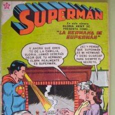 Tebeos: SUPERMAN. Nº 168. ENERO 1959. EDICIONES RECREATIVAS DE LA ORG. NOVARO. Lote 19480938
