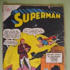 Tebeos: SUPERMAN. Nº 127. MARZO 1958. EDICIONES RECREATIVAS DE LA ORG. NOVARO. Lote 19481319