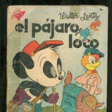 Tebeos: NOVARO. EL PAJARO LOCO. Nº 145. 1958.. Lote 19654264