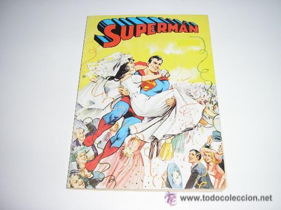 SUPERMAN LIBRO COMIC TOMO XVI (Tebeos y Comics - Novaro - Superman)