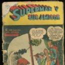 Tebeos: SUPERMAN Y SUS AMIGOS Nº 19. NOVARO. 1957. MUY RARO.. Lote 30173832