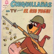 Tebeos: CHIQUILLADAS EN TV PRESENTA: EL OSO YOGUI. Nº 154. 1965.. Lote 20226937