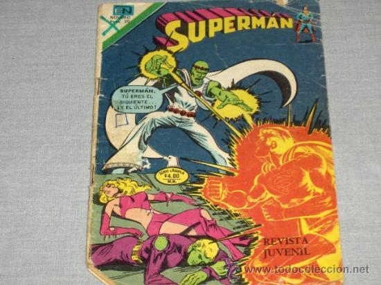NOVARO. SUPERMAN Nº 1159. SERIE ÁGUILA. 1978. (Tebeos y Comics - Novaro - Superman)