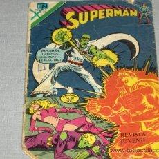 Tebeos: NOVARO. SUPERMAN Nº 1159. SERIE ÁGUILA. 1978. REGALO Nº 1052 CON SUPERNIÑA.. Lote 20282551