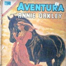Tebeos: AVENTURA # 489 ANNIE OAKLEY NOVARO 1967 CON DETERIORO. Lote 27298248