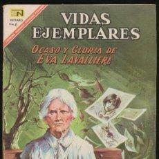 Tebeos: VIDAS EJEMPLARES Nº 252. NOVARO 1967.. Lote 20452767