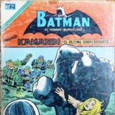 Tebeos: BATMAN # 2-880 - SERIE AGUILA - KAMANDI: EL ULTIMO SOBREVIVIENTE - NOVARO - AÑO 1977 - JOYA . Lote 27565960