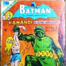 Tebeos: BATMAN # 2-920 SERIE AGUILA KAMANDI: EL ULTIMO SOBREVIVIENTE NOVARO 1978 BUEN ESTADO. Lote 27565961