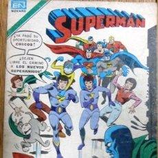 Tebeos: SUPERMAN # 2-1209 - SUPER AMIGOS - SERIE AGUILA - NOVARO - AÑO 1979 - JOYA DE COLECCION . Lote 23560378