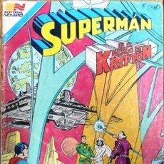 Tebeos: SUPERMAN # 3-76 - EN EL MUNDO DE KRYPTON - AVESTRUZ - AÑO 1981 - NOVARO - JOYA DE COLECCION. Lote 25324625