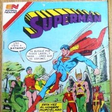 Tebeos: SUPERMAN # 3-90 - SUPERMAN Y BATMAN - TORNADO ROJO - AVESTRUZ - 1982 - NOVARO - JOYA COLECCION . Lote 23859852