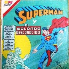 Tebeos: SUPERMAN # 3-113 SUPERMAN Y EL SOLDADO DESCONOCIDO AVESTRUZ NOVARO 1983 BUEN ESTADO. Lote 25666844