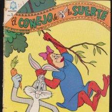 Tebeos: EL CONEJO DE LA SUERTE Nº 207. NOVARO 1964.. Lote 20820327
