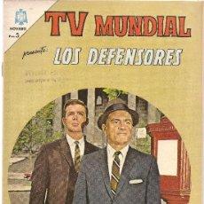 Tebeos: TV MUNDIAL Nº 28 LOS DEFENSORES. Lote 25974643