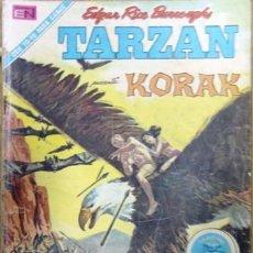 Tebeos: TARZAN # 268 TARZAN PRESENTA KORAK NOVARO 1971 BUEN ESTADO. Lote 25102165