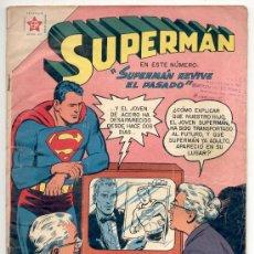 """Tebeos: SUPERMAN - Nº 118 - """"SUPERMAN REVIVE EL PASADO"""" - NOVARO.. Lote 21155803"""