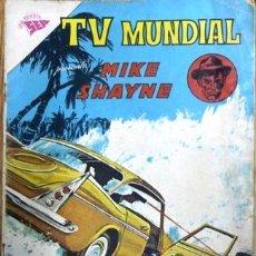 Tebeos: TV MUNDIAL # 2 MIKE SHAYNE NOVARO 1962 MUY BUEN ESTADO. Lote 25421095