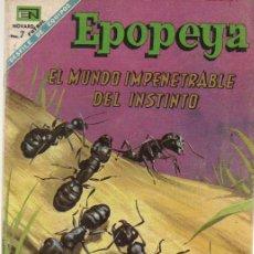 Tebeos: EPOPEYA Nº 124 DEL 01/09/1968. Lote 25302026