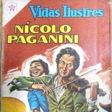 Tebeos: VIDAS ILUSTRES # 77 NICOLO PAGANINI NOVARO 1962 MUY BUEN ESTADO. Lote 25915486