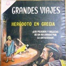 Tebeos: GRANDES VIAJES # 34 HERÓDOTO EN GRECIA NOVARO 1965 BUEN ESTADO. Lote 25970875