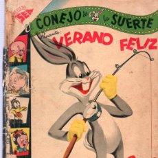 Tebeos: EL CONEJO DE LA SUERTE. VERANO FELIZ. SEA. AÑO VIII. NUMERO EXTRAORDINARIO. 1957.. Lote 26114127