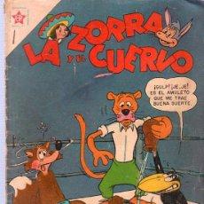Tebeos: LA ZORRA Y EL CUERVO. AÑO VI. Nº 65. 1957. NOVARO. . Lote 21707970
