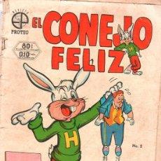 Tebeos: EL CONEJO FELIZ. PROTEO. Nº 2. AÑO 1. 1952. . Lote 21708264