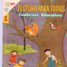 Tebeos: LECTURA PARA TODOS. CUADERNOS EDUCATIVOS. Nº 5. 1959. NOVARO. . Lote 21775624