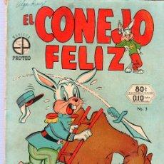 Tebeos: EL CONEJO FELIZ. PROTEO. Nº3. 1952.. NOVARO. . Lote 21775857