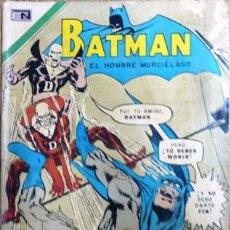 Tebeos: BATMAN # 582 - EDITORIAL NOVARO 1971 UN MUERTO ATACA CON DETALLES. Lote 23481394