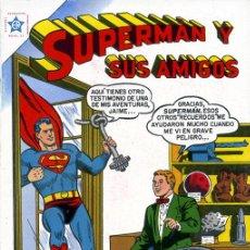 Tebeos: SUPERMAN Y SUS AMIGOS NOVARO EDITORIAL NOVARO/ REIMPRESIONES DE EXCELENTE CALIDAD//. Lote 169231708
