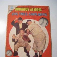 Livros de Banda Desenhada: DOMINGOS ALEGRES 562: LOS TRES CHIFLADOS - NOVARO. Lote 22139772
