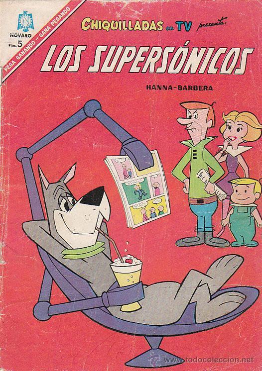 CHIQUILLADAS EN TV: LOS SUPERSÓNICOS Nº 196, AÑO 1966 (Tebeos y Comics - Novaro - Otros)