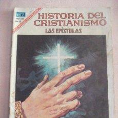 Tebeos: HISTORIAS DEL CRISTIANISMO LAS EPISTOLAS EDITORIAL NOVARO. Lote 24806983