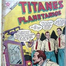 Tebeos: TITANES PLANETARIOS # 60 NOVARO 1958 BUEN ESTADO DE ENCUADERNACION. Lote 26061963