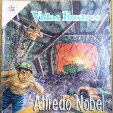 Tebeos: VIDAS ILUSTRES # 42 ALFREDO NOBEL NOVARO 1959 BUEN ESTADO. Lote 26082981