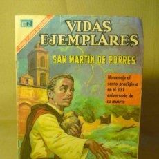Tebeos: COMIC, NOVARO, VIDAS EJEMPLARES, SAN MARTIN DE PORRES, Nº 327. Lote 22539620