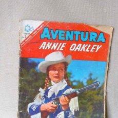 Tebeos: COMIC, AVENTURA, ANNIE OAKLEY, ORIGINAL, EDITORIAL NOVARO, Nº 463, 1966. Lote 22852285