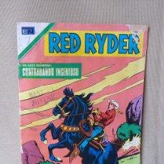 Tebeos: COMIC, RED RYDER, CONTRABANDO INGENIOSO, ORIGINAL, EDITORIAL NOVARO, Nº 256, 1971. Lote 22852437