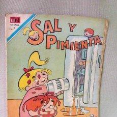 Tebeos: COMIC, SAL Y PIMIENTA, REVISTA JUVENIL, EDITORIAL NOVARO, Nº65, 1970, . Lote 23125238