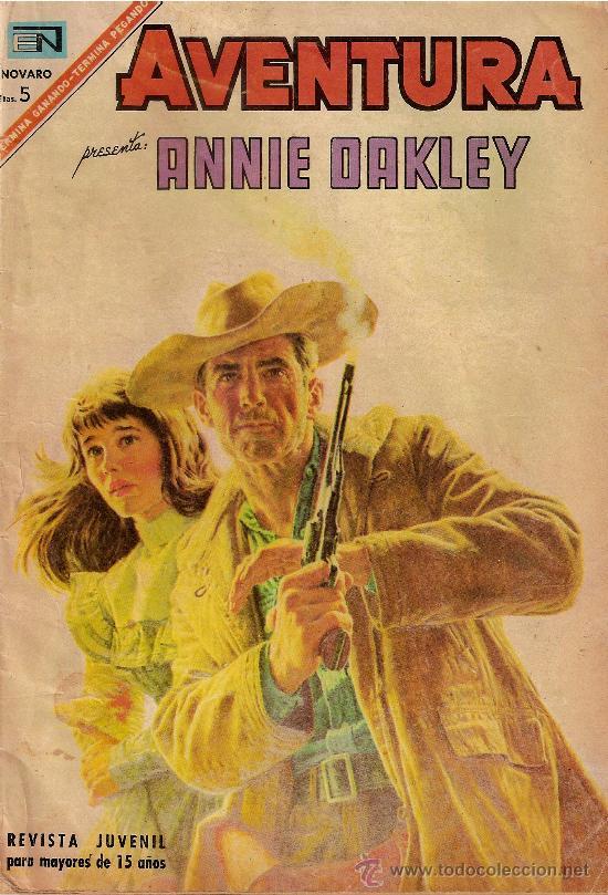 ANNIE DAKLEY (Tebeos y Comics - Novaro - Aventura)