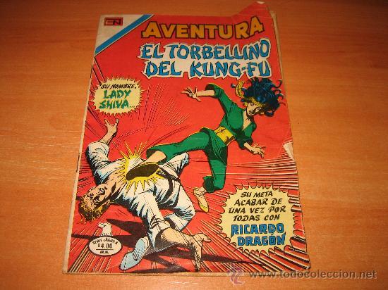 EL TORBELLINO DEL KUNG-FU ..... 1980 (Tebeos y Comics - Novaro - Aventura)