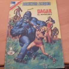 Tebeos: DAGAR EL INVENCIBLE DOMINGO ALEGRES Nº 2 1311 SERIE AGUILA AÑO 1979 NOVARO. Lote 23668181
