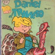 Tebeos: TEBEO. COMIC. DANIEL EL TRAVIESO. NOVARO. Nº 57. 1962.. Lote 23698439