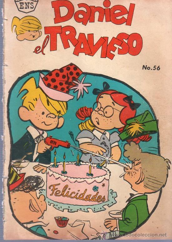 TEBEO. COMIC. DANIEL EL TRAVIESO. NOVARO. Nº 56. 1962. (Tebeos y Comics - Novaro - Otros)