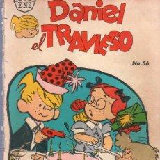 Tebeos: TEBEO. COMIC. DANIEL EL TRAVIESO. NOVARO. Nº 56. 1962.. Lote 23698453