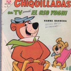 Tebeos: TEBEO. COMIC. CHIQUILLADAS. EL OSO YOGUI. NOVARO. AÑO XIII. Nº 148. 1964.. Lote 23699024
