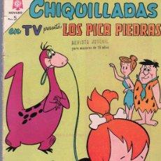 Tebeos: TEBEO. COMIC. CHIQUILLADAS. LOS PICA PIEDRAS. NOVARO. AÑO XIII. Nº 149. 1964.. Lote 23699035