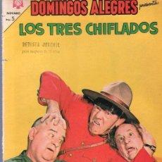 Tebeos: TEBEO. COMIC. DOMINGOS ALEGRES. LOS TRES CHIFLADOS. AÑO XII. Nº 583. 1965.. Lote 45954326